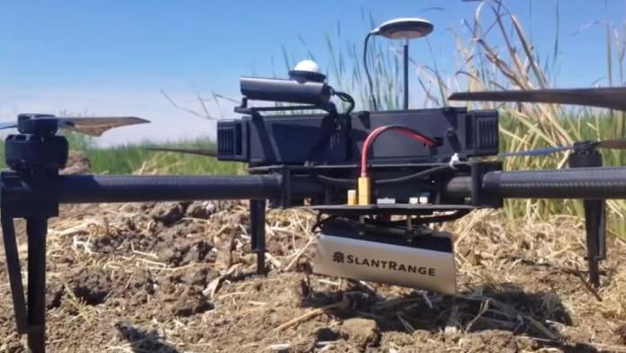 SlantRange is mounting computer vision enabled cameras onto drones to monitor crop