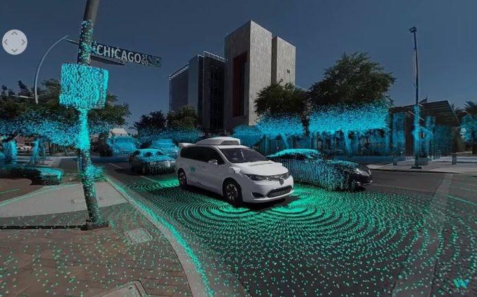 Waymo Self Driving Car uses Computer Vision Cameras