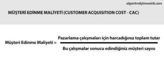 Müşteri Edinme Maliyeti