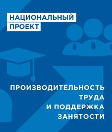 Национальный проект «Производительность труда и поддержка занятости»