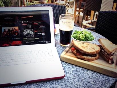 Minute Steak Sandwich, una gloria!