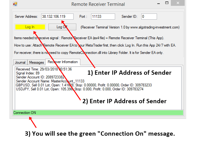 Remote Trade Copier S001e1