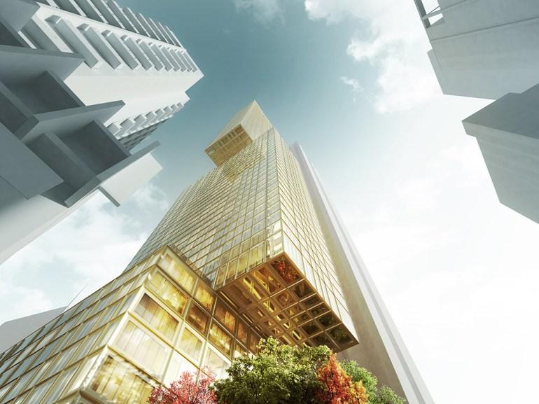 97 Franklin Street_Hassell_ Suleiman Alhadidi_ closeup; Residential Development; Residential Highrise; Impressive Architecture; Melbourne Landmark