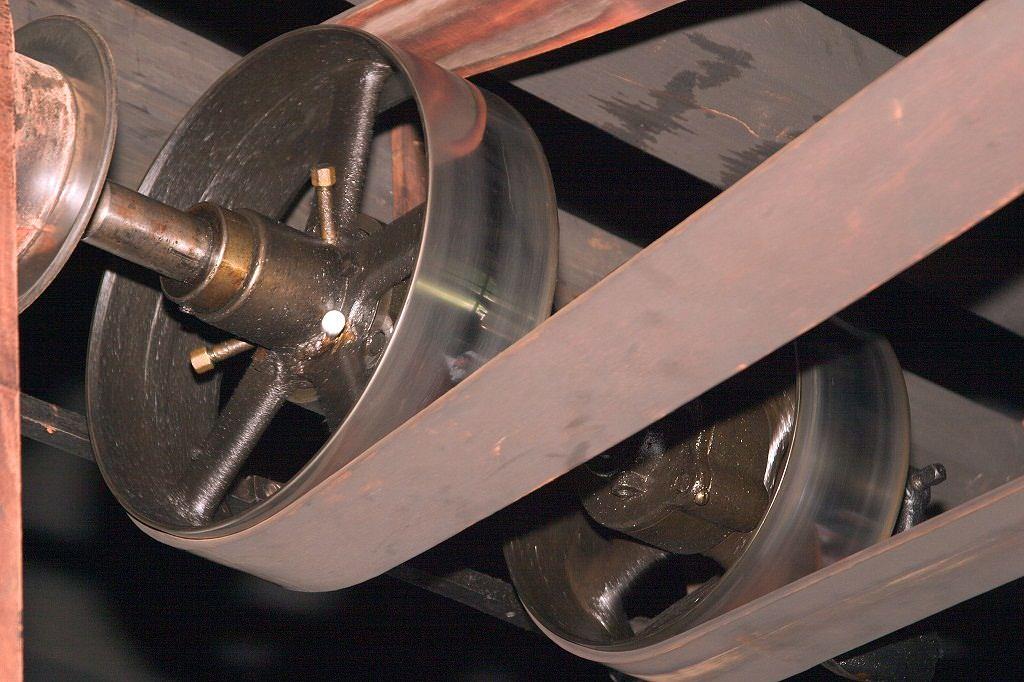 Leather Transmission Belts Leather Nylon Sandwich Belt