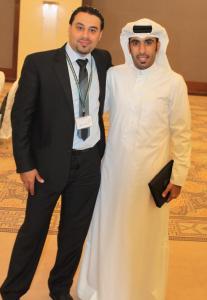 مع راشد في نابلس 2012