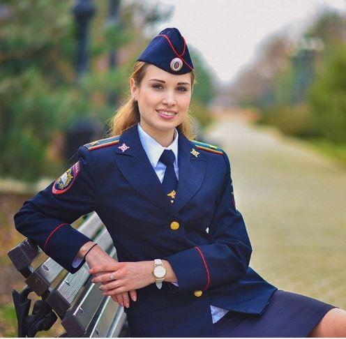 شرطية روسية
