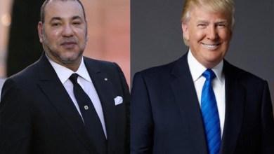 ترامب والملك محمد السادس