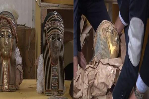 اثار مصر المهربة الي ايطاليا