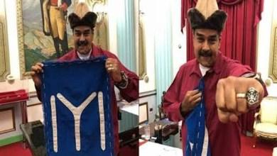 رئيس فنزويلا يرتدي زي أرطغرل