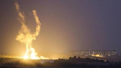 إسرائيل قصف
