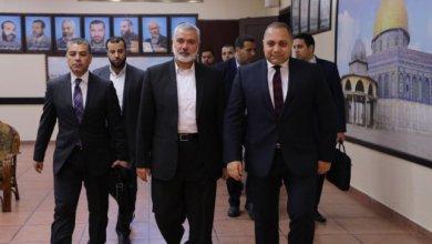 الجانب المصري و قادة حماس
