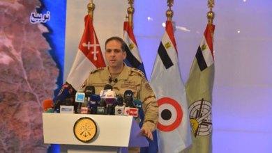 المتحدث باسم الجيش المصري