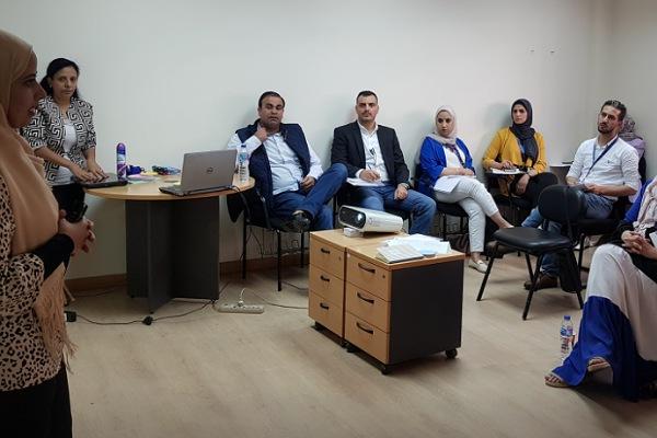 وفد وزارة العمل الأردنية