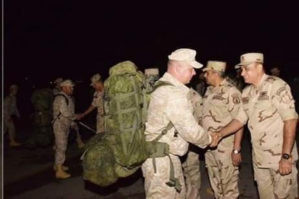 الدفاع الجوي الروسية تصل مصر