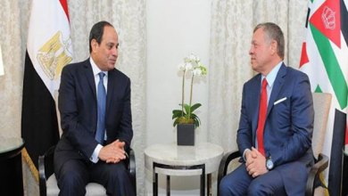 الرئيس السيسي والملك عبد الله