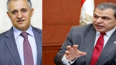 وزير القوى العاملة ونظيره الأردني
