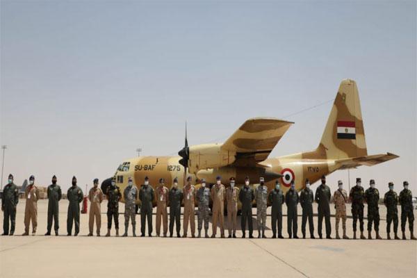 وصول القوات المصرية إلى الأراضي السعودية