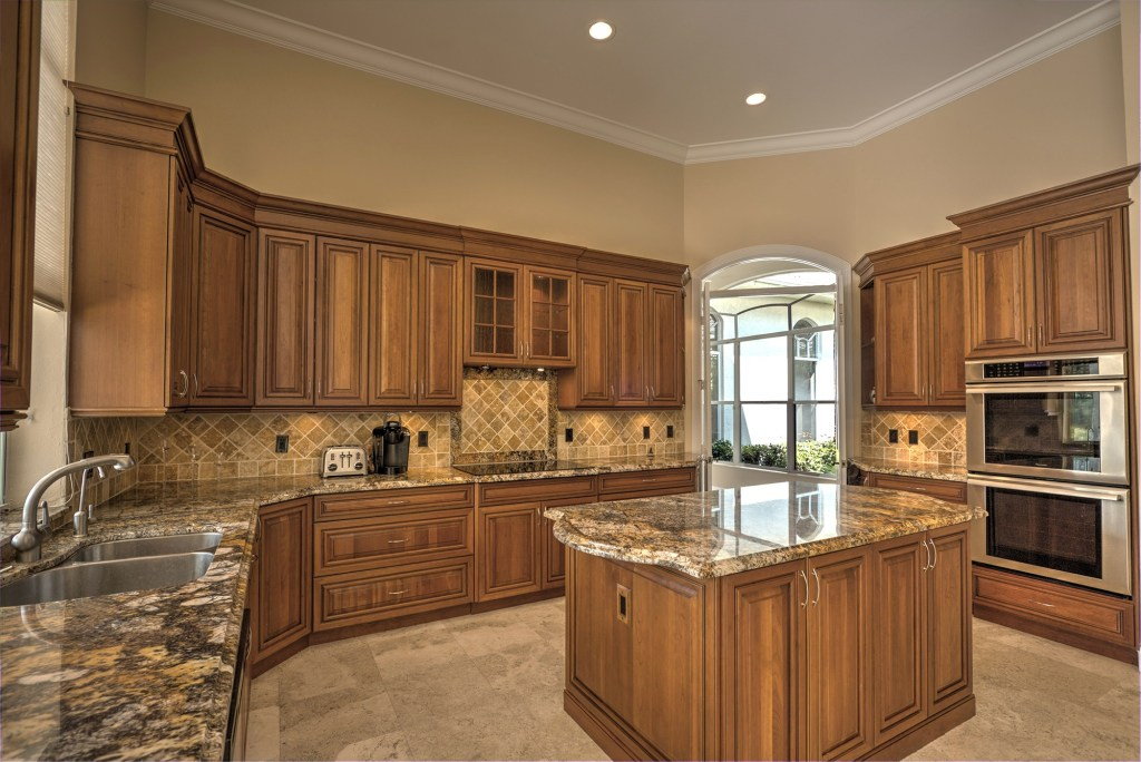 countertops in kitchen