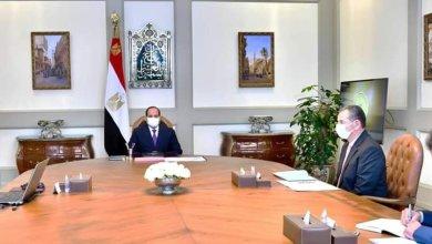 """Photo of """" الرئيس يتابع خطط ومشروعات وزارة الشباب والرياضة على مستوى الجمهورية""""."""