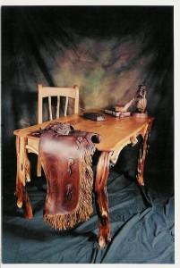 Functional art desk