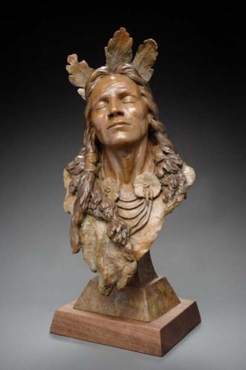 sculpture,native american,al hone