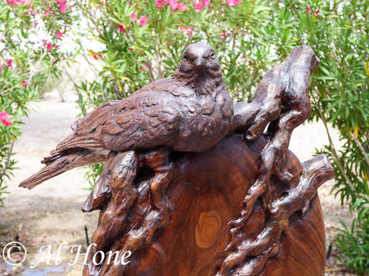 New projects for the art shows, wood carving, bird