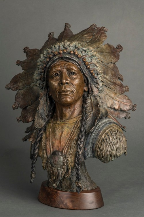 native american sculpture