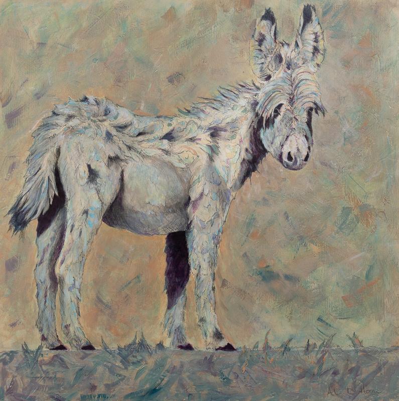 burro painting