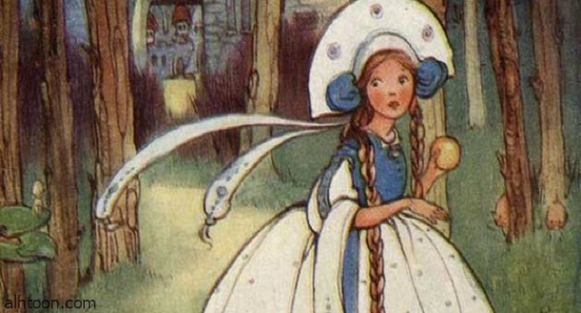 قصة (الأميرة وزوجة الصياد)