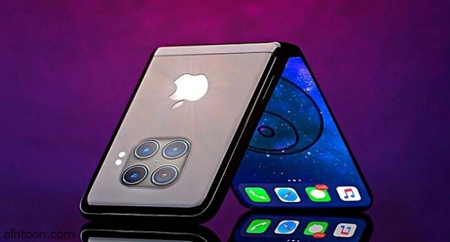 تسريبات شكل هواتف آيفون قابلة للطي
