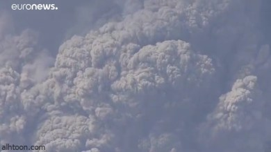 شاهد: بركان يغطي السماء برماده في الكاريبي - صحيفة هتون الدولية