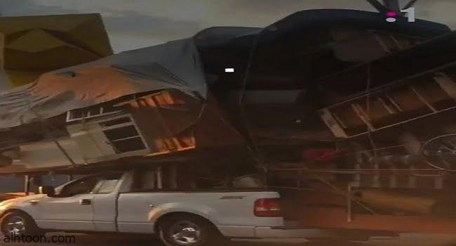 فيديو.. مكسيكي ينقل منزله على سيارته - صحيفة هتون الدولية