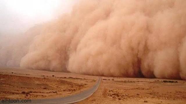 شاهد: عاصفة رملية تجتاح منغوليا - صحيفة هتون الدولية
