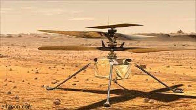 فيديو .. مروحية ناسا تحلق فوق المريخ - صحيفة هتون الدولية