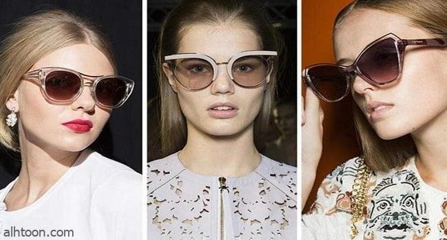 أحدث صيحات النظارات الشمسية 2021
