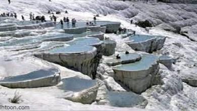 """باموكالي"""" قلعة القطن.. الينابيع الساخنة التركية -صحيفة هتون الدولية-"""