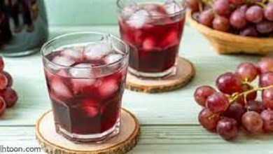 فوائد عصير العنب الصحية - صحيفة هتون الدولية