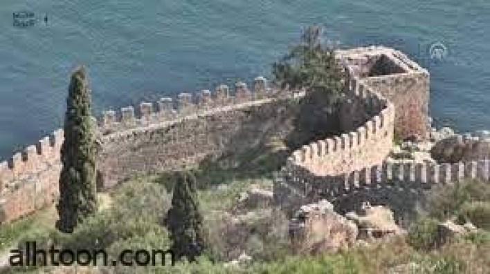 قلعة الانيا أجمل معالم تركيا السلجوقية -صحيفة هتون الدولية