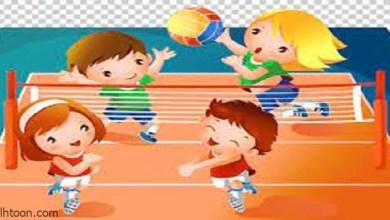 الكرة الطائرة الشاطئية للأطفال -صحيفة هتون الدولية