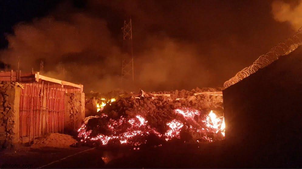 فيديو فرار سكان الكونغو بعد ثوران البركان - صحيفة هتون الدولية