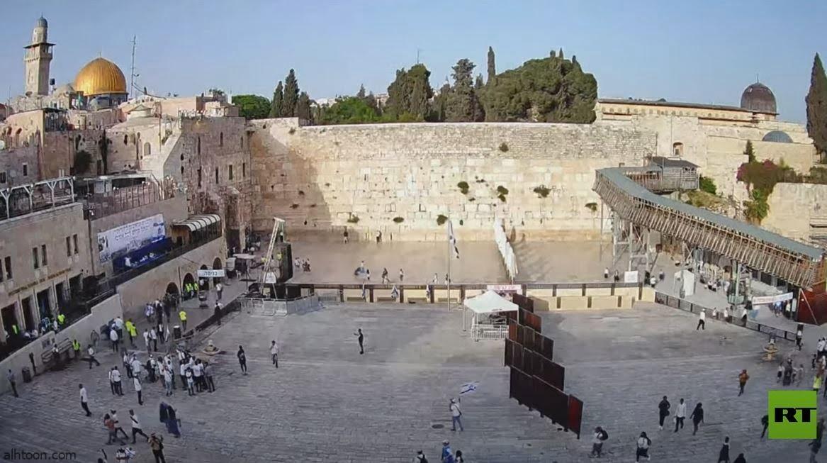 شاهد: صافرات الإنذار تدوي القدس - صحيفة هتون الدولية
