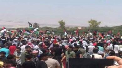 """شاهد: محاولة اقتحام الأردنيين الحدود لـ""""فلسطين"""" - صحيفة هتون الدولية"""