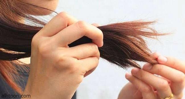 تقصف الشعر وعلاجه نهائيًا