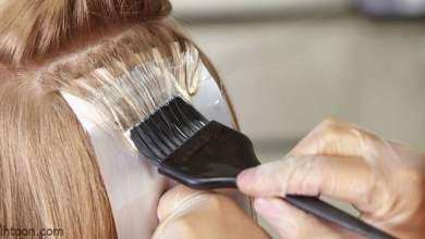 أضرار الصبغة على الشعر