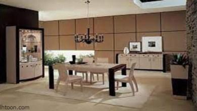 تصاميم غرف السفرة المودرن الرائعة -صحيفة هتون الدولية