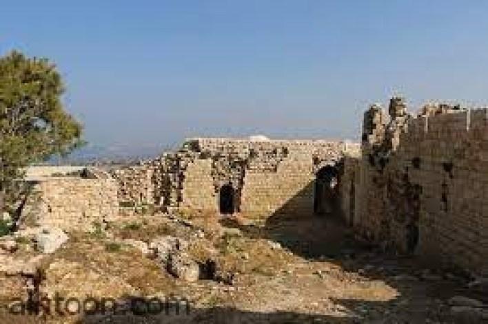 قلعة شمع التاريخية في جنوب لبنان -صحيفة هتون الدولية