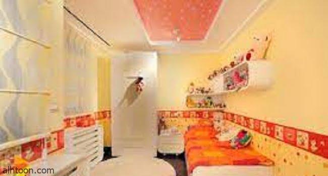 ديكورات غرف الاطفال باللون البرتقالى -صحيفة هتون الدولية