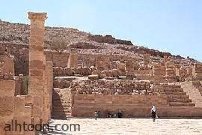 """معبد البتراء """"الكبير"""" -صحيفة هتون الدولية"""
