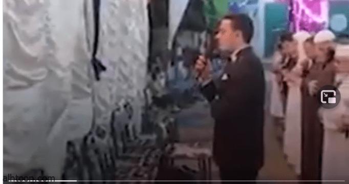 شاهد: عريس يترك حفل الزفاف .. والسبب؟ - صحيفة هتون الدولية