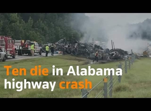 فيديو: حادث مروع على طريق بأمريكا - صحيفة هتون الدولية